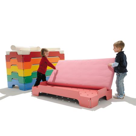 Stapelliege Farbe Kinder Müller Möbelwerkstätten