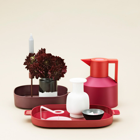 serviertabletts 39 nabo 39 3er set rot. Black Bedroom Furniture Sets. Home Design Ideas