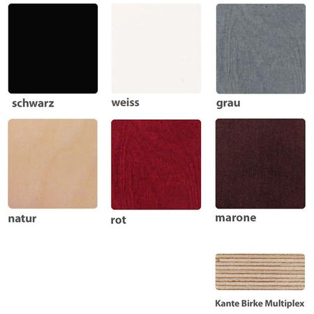 Farben Holz Ellips Design