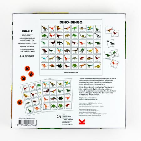 Spiel Dino Bingo von Caroline Selmes