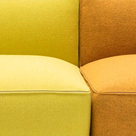 Sofa Dado mit Chaise Longue von Andreu World