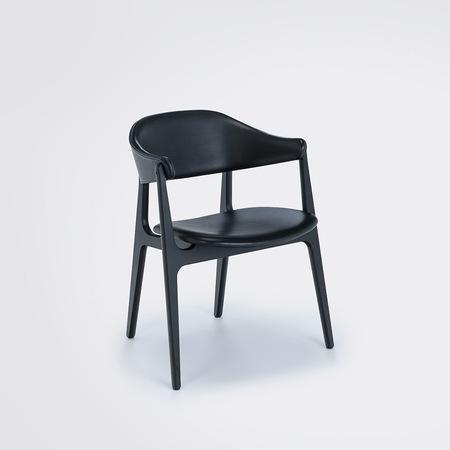 Stuhl Spän Black von Houe