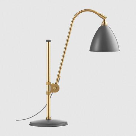 Tischlampe Bestlite mit Messinggestell von Gubi
