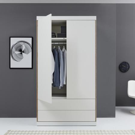 Kleiderschrank Flai mit Schubladen von Müller Möbelwerkstätten
