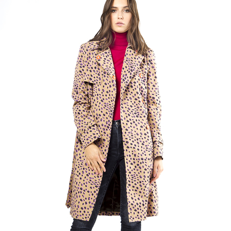 Mantel Cheetah Print PS Paul Smith