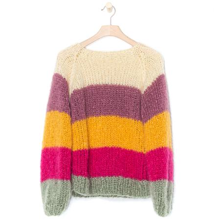 Pullover Mohair Streifen Pret-a-faire