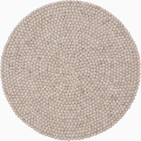 Teppich Mono Beige Meliert My Felt