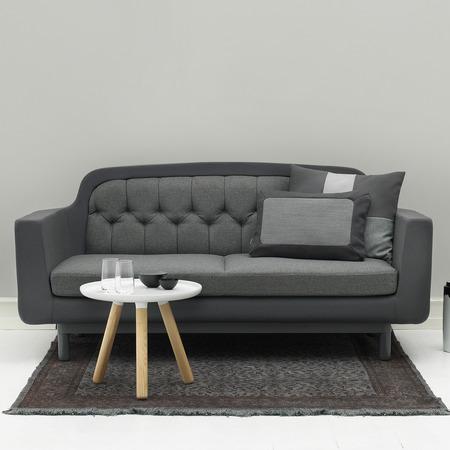 602950 onkel sofa 2 seater darkgrey livingroom