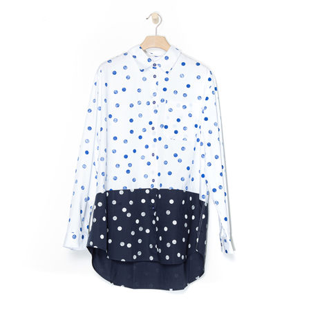 Bluse Punkte PS by Paul Smith
