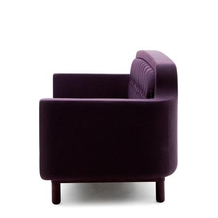602915 onkel sofa 3 seater purple 2 side