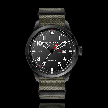 Armbanduhr Blackbird Panzera