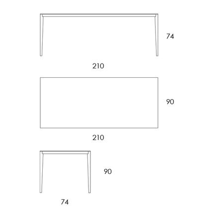 Tisch Slender Formoebel