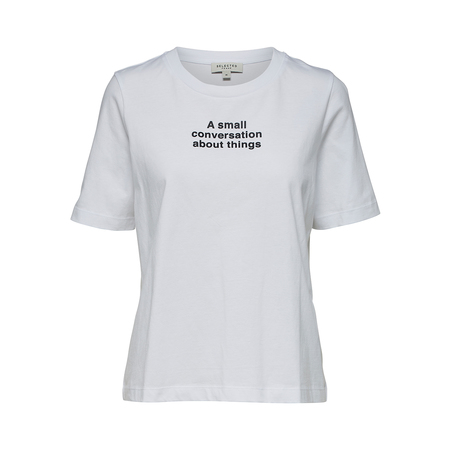 Tshirt Statement Print Selected Femme