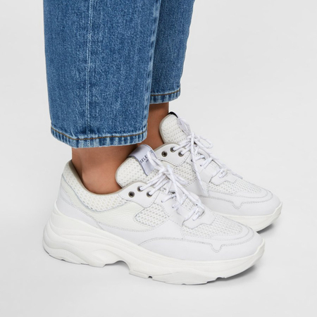 Lieblings-Sneaker in Weiss von Selected Femme