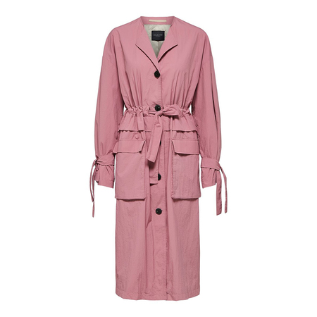 Trench Mantel in Rose Selected Femme
