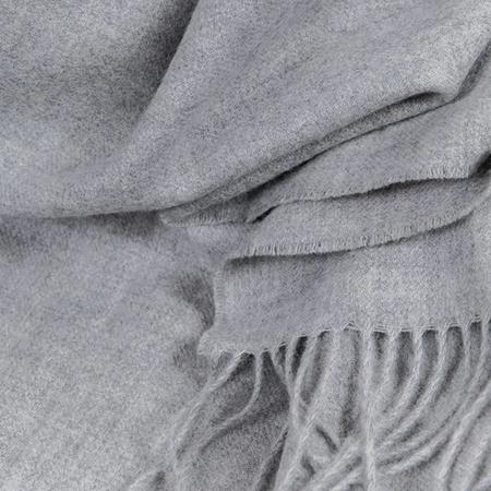 Baby Alpaka Tuch Grau ZigZagZurich