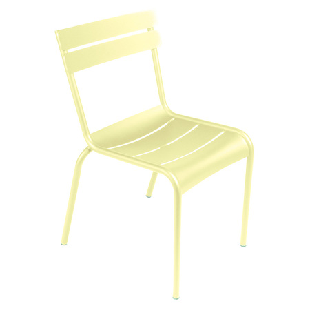 Fermob Luxembourg Stuhl  Zitronensorbet A6,  Stuhl ohne Armlehnen