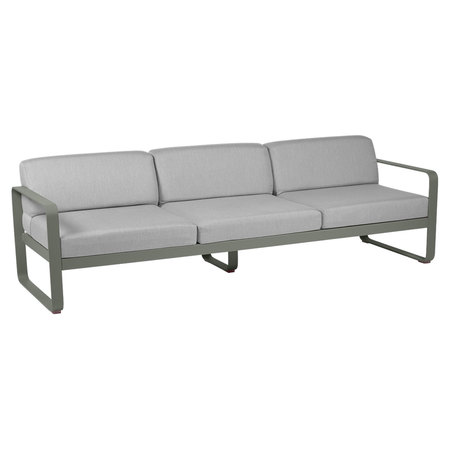 Fermob Outdoor 3-Sitzer Sofa 'Bellevie'  Rosmarin 48,  Flanellgrau
