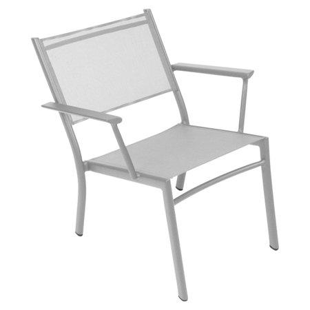 Fermob Sessel 'Costa'  Metallgrau / Silber 38