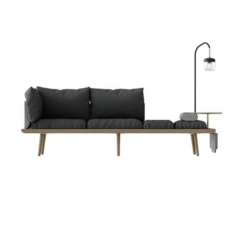3 Sitzer Sofa Lounge Around