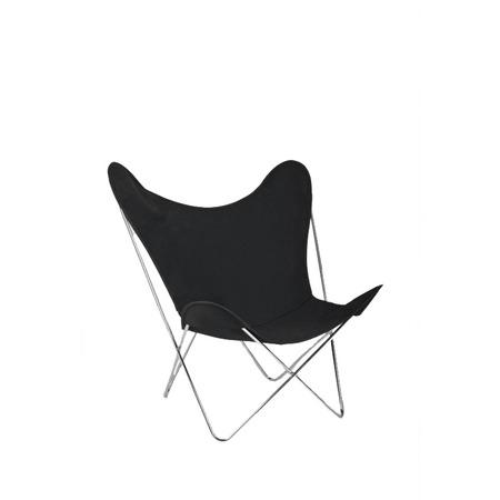 Hardoy butterfly chair mit bezug baumwolle
