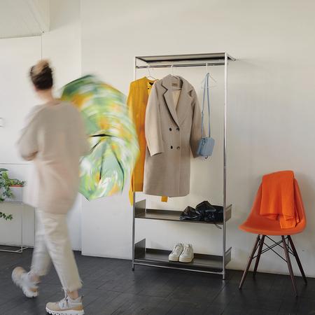 Garderobe Comba Chrom Mox