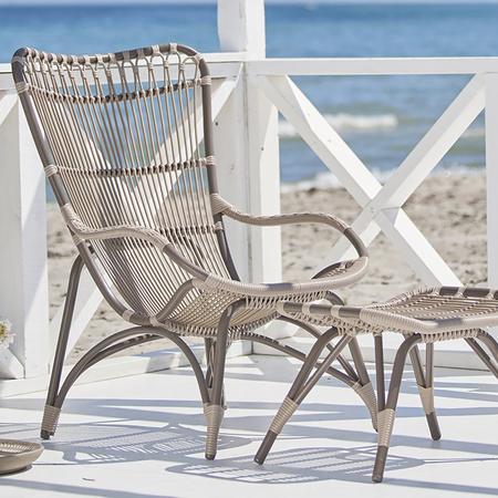Endlich für draussen: Monet Chair von 'Sika'