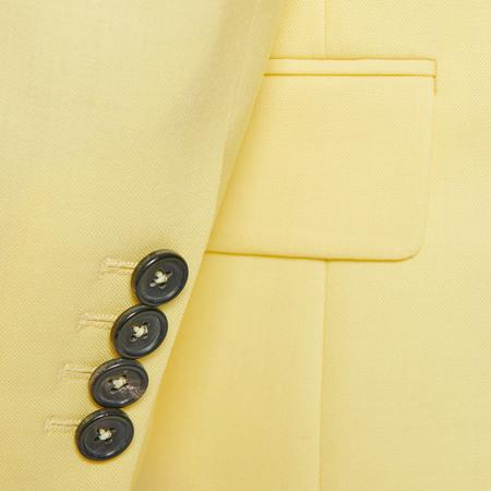 Gelber Long-Blazer von PS Paul Smith
