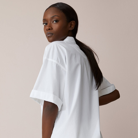 Poplin-Bluse von Closed