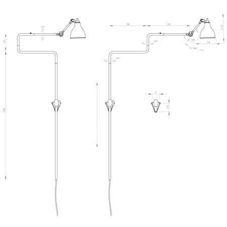 lampe gras 217-11