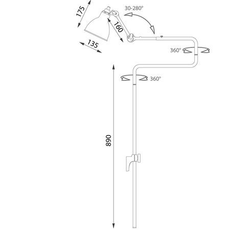 lampe gras 217-13