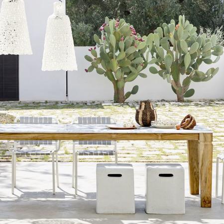 Gartentisch Jeko von Gervasoni