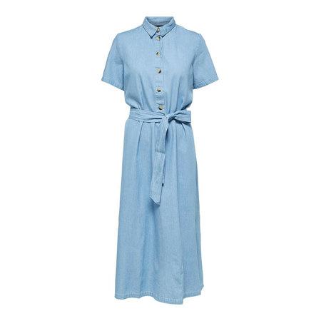 Blusenkleid aus Baumwoll-Denim von  Selected Femme