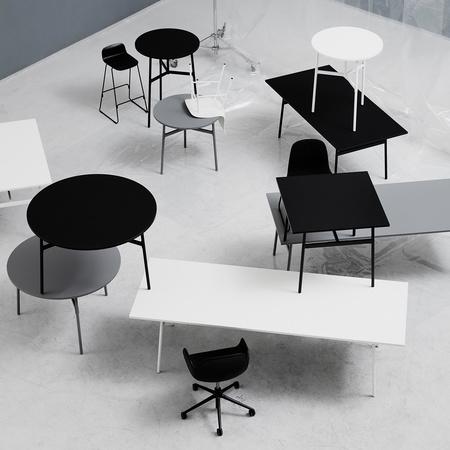 Stuhl Form mit Rollen
