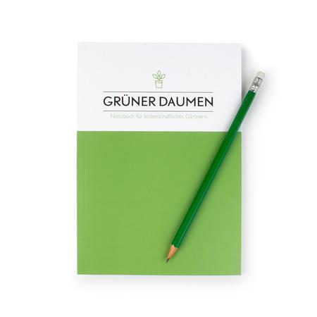 Notizbuch Grüner Daumen