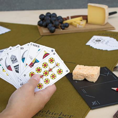 Schweizer Jasskarten von Fidea Design