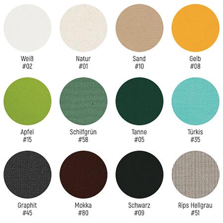 Weishäupl Farben Polsterstoff
