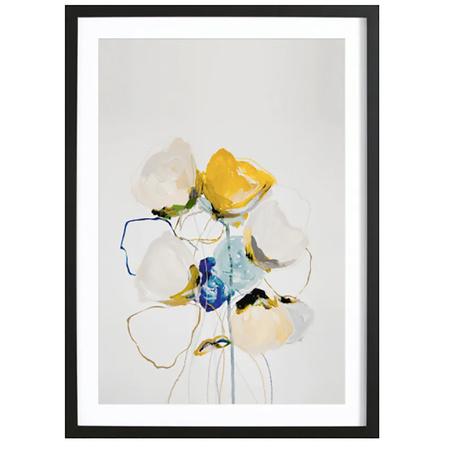 Bloom 1218 -Bild mit Holzrahmen / 50 X 70