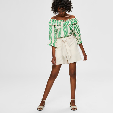 Natürliche Shorts von Selected Femme