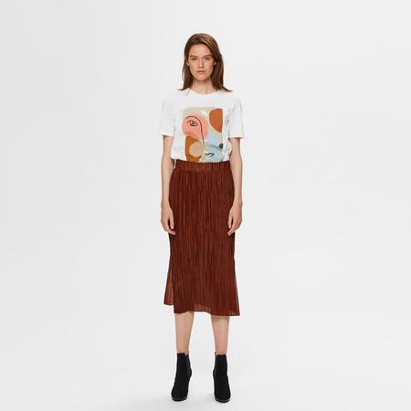 Kunstvolles T-Shirt aus Biobaumwolle