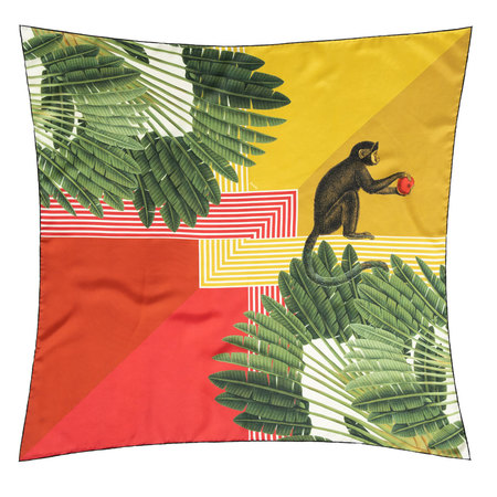 Seiden-Carré Monkey Palms von Foulala