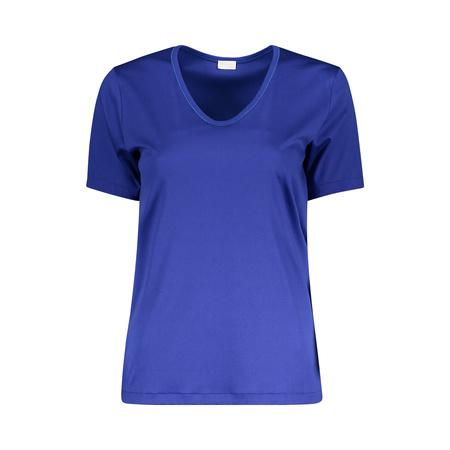 Liebstes Baumwollshirt von Zimmerli in Blau