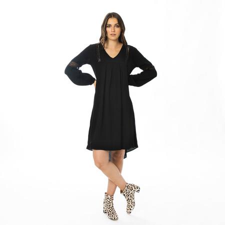 Elegantes Sommerkleid in Schwarz