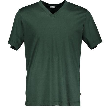 Dunkelgrünes Baumwoll T-Shirt von Zimmerli