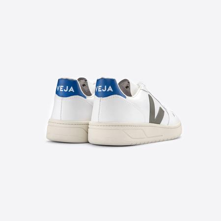 'Veja V-10'- Sneaker mit Khaki & Indigo