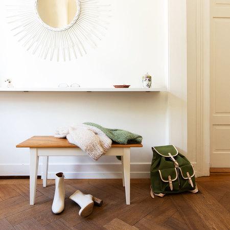 Holzbank Unik Stilelemente