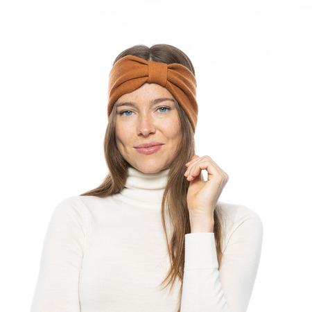 Weiches Stirnband in 'Almond' oder 'Russet'