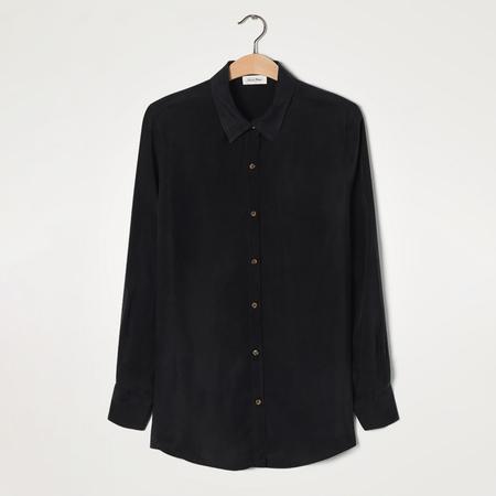Hemdbluse von 'American Vintage' in Schwarz