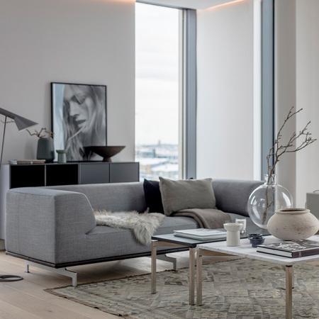Sofa 'Delphi' in Steelcut Trio 3