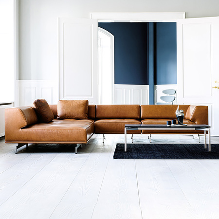 Sofa 'Delphi' in Leder